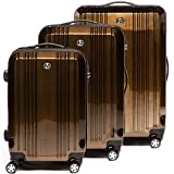 FERGÉ Kofferset Hartschale 3-teilig Cannes Trolley-Set...