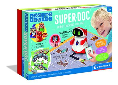 Clementoni-55379 - Super Doc - robot educativo a partir de 5...