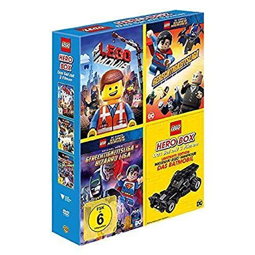 LEGO Hero Box (inkl. LEGO Minifigur 'Das Batmobil') 3 Filme / The Lego Movie, Lego Super Heroes...