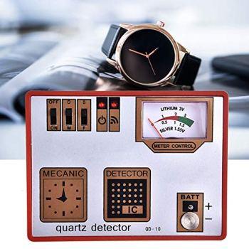 Détecteur de Quartz Montre Machine de chronométrage attery et testeur d'impulsion, testeur de Batterie, démagnétiseur de Montre pour réparation de Wacth d'horlogers