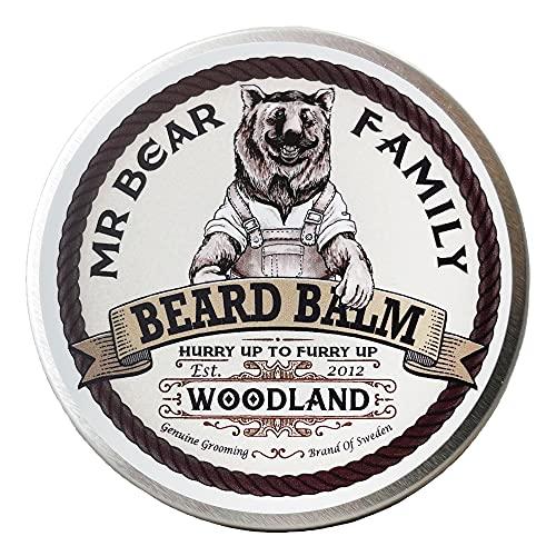 Mr Bear Family Woodland, Balsamo Da Barba, 60 ml