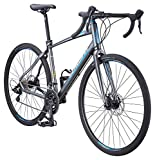 Schwinn Vantage Rx 2 700C Gravel Adventure Bike with Disc Brakes, 48cm/Medium Frame, Charcoal, Schwinn Vantage Gravel Bike