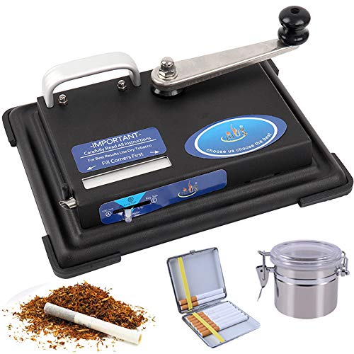 Facile Automatico Sigarette Macchina Full Metal Manuale Push-Pull Bocchino con Migliore Regalo Padre...