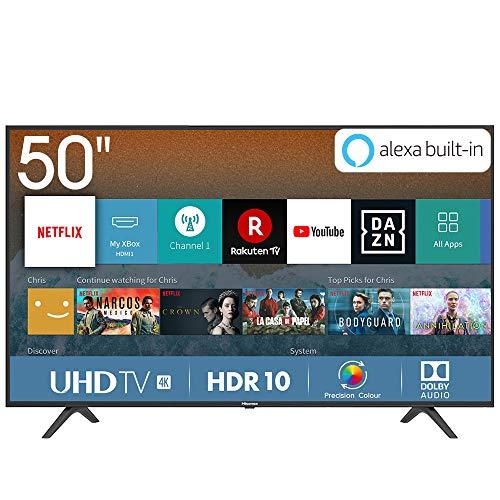 Hisense H50BE7000 - Smart TV 50' 4K Ultra HD con Alexa Integrada, 3...