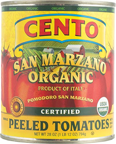 San Marzano Organic Peeled Tomatoes, 28 Ounce (Pack of 6)