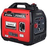 VERTAK 2000 Watt Inverter Generator, 48dB Super Quiet Lightweight 40lbs Gas Powered Portable Power...