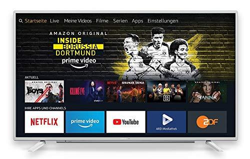 Grundig Vision 6 - Fire TV (32 GFW 6060) 80 cm (32 Zoll) Fernseher (Full HD, Alexa-Sprachsteuerung, Magic Fidelity) weiß [Modelljahr 2019]