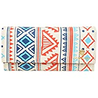 Printed Clutch For Women & Girls, Ideal Gift For Ladies Easy To Carry, Innovative Design, Designer Clutch , High Quality Faux Leather Printed Design, Premium Leather Quality. Other Body Features: 1 Zipped Pockets, 4 Compartment, 1 ID Slot & 11 Card S...