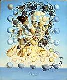 HGlSG DIY Pintar por números Pintura de Cara de Mujer esférica de El Salvador Art Lienzo de Pintura Digital Adecuado para la decoración de la Sala de Estar para niños, Estudiantes y40x60cm(Sin Marco)