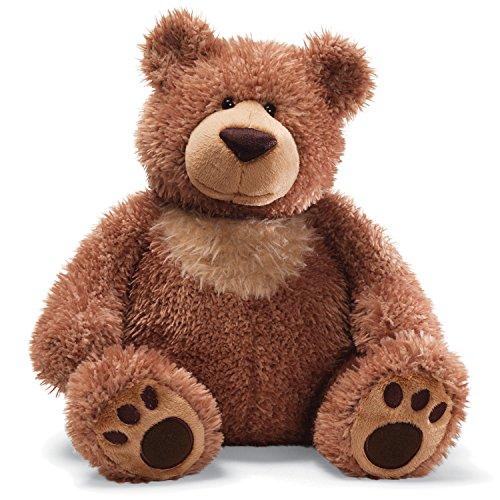GUND Slumbers Teddy Bear Stuffed Animal Plush, Brown, 17'