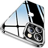 CASEKOO Crystal Clear Designed for iPhone 12 Pro Max Case, [Anti-Yellowing] [Military Grade...