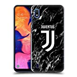 Head Case Designs Ufficiale Juventus Football Club Nero 2017/18 Marmoreo Cover Dura per Parte Posteriore Compatibile con Samsung Galaxy A10 (2019)