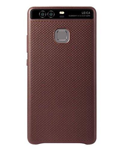 Huawei純正 Huawei P9ケース ライカ レザーカバー オリジナル Original Leica Leather Cover Case Wine Red(ワインレッド) カーフスキンCalfskin 並行輸入品