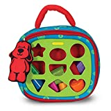 Melissa & Doug Take-Along Shape-Sorter Baby and Toddler Toy (Developmental Toys, For Babies & Toddlers, Great Gift for Girls and Boys - Best for Babies and Toddlers, 9 Month Olds, 1 and 2 Year Olds)