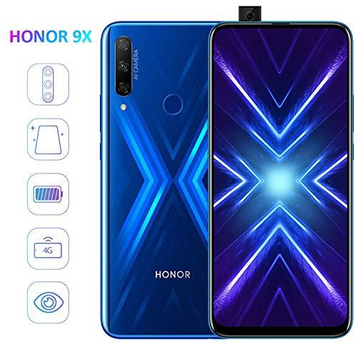 HONOR 9X Smartphone, 2020 NEW 4GB 128GB Telefono, Schermo Intero Da 6,59', Dual SIM Telefoni...