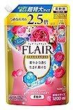 【大容量】フレアフレグランス 柔軟剤 フローラル&スウィートの香り 詰替用 1200ml