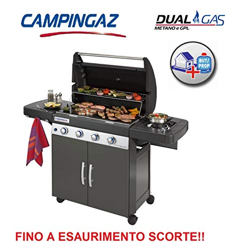 Altigasi Barbecue A Gas GPL Oppure METANO Sistema Dual Gas 4 Series Classic LS Plus Dark CAMPINGAZ...