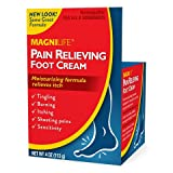 MagniLife Pain Relief Foot Cream, Shooting, Stabbing, Burning, and Tingling Fast Treatment