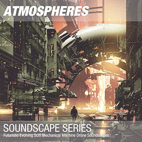 Futuristic Scifi Mechanical Machine Drone Soundscape 007