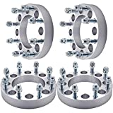 GDSMOTU 4pc Wheel Spacers for Ford 8 Lug,1.5' Wheel Spacers 8x170 with M14x2.0 Studs for 1999-2014 F250 F350 Super Duty(Only Vehicles with 14x2 Studs),1999-2002 Excursion
