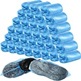 400 Pieces (200 Pairs) Disposable Boot and Shoe Covers for Floor,...