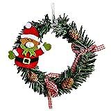 Mini guirnaladornos navideños Colgantes árboles Navidad GuirnalNavidad en...
