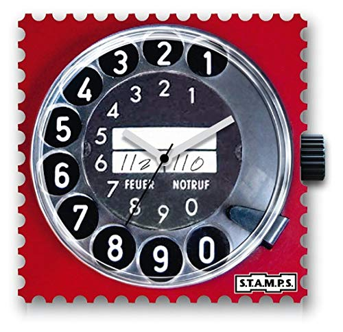 S.T.A.M.P.S. - Uhrenmotiv Call Me, Mehrfarbig, 100239