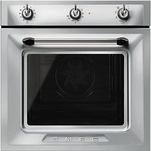 Smeg SF6905X1 - Forno termoventilato, 60 cm, inox antimpronta, Estetica Victoria. Classe energetica...