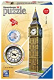 Ravensburger- Puzzle 3D Big Ben with Clock 216 pièces, 12586
