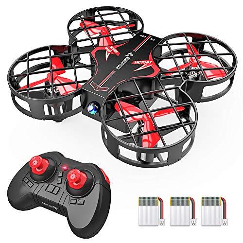 SNAPTAIN H823H Plus Mini Drone per Bambini, Funzione Lancia & Vola, Quadricottero Funzione Hovering, 3D Filp, velocit Regolabile, modalit Headless, Buon Regalo di Natale per Principianti