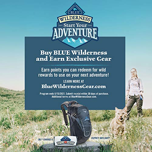 Blue Buffalo Wilderness High Protein, Natural Adult Weight Control Dry Cat Food, Chicken 11-lb 7
