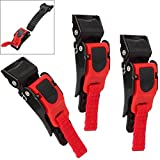 Paddsun 3PCS Motorcycle Helmet Speed Clip Chin Strap Buckle Quick Release Disconnect Pull Buckle