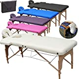 Beltom Table de Massage 2 Zones Portables Cosmetique lit esthetique...