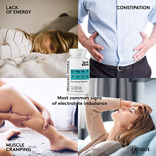 Water Weight Pills to Thin Waistline & Relief Belly Bloat Ankle & Leg Swelling + Electrolytes Support w/Potassium B6 VIT | Dandelion Natural Diuretic Supplement for Water Retention Loss | Woman & Men 3