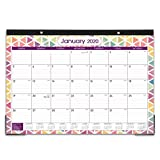 2020-2021 Desk Calendar - 18 Months Desk/Wall Calendar, 17' x 12', Large Monthly Desk Calendar, Jan 2020 - June 2021, Large Ruled Blocks, Tear Off, Best Desk Calendar for Planning and Organizing