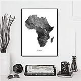 Affiches et ... cartes de l'Afrique