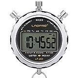 LAOPAO Chronomètre Numérique, Imperméable 1/100 Seconde Précision...