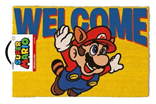 Super Mario - Felpudo Welcome