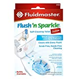 Fluidmaster 8100 Flush 'n Sparkle Automatic Toilet Bowl Cleaning System with Blue Cartridge