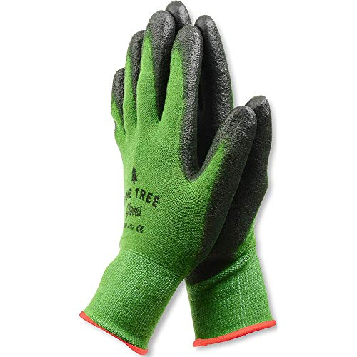 Pine Tree Tools Bamboo Working Gloves for Women and Men. Ultimate Barehand Sensitivity Work Glove for Gardening, Fishing, Clamming, Restoration Work & More. S, M, L, XL, XXL (1 Pack S)