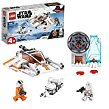 LEGO 75268 Star Wars Snowspeeder et speeder bike, Set de jeu avec bases de démarrage pour enfants en âge préscolaire
