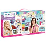 Make It Real - Mega Jewelry Studio - DIY Bead Necklace and Bracelet Making Kit for Tween Girls - Arts and Crafts Kit with Beads and Charms for Unique Jewelry Making - Includes Case