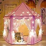 Porpora Kids Indoor/Outdoor Princess Castle Play Tent Fairy Princess...