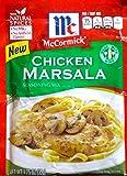 McCormick Chicken Marsala Seasoning Mix (Pack of 3) 1.25 oz Packets