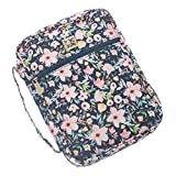 Mary Square Hampstead Floral Bible Cover Case 8 x 10.5 with Handle