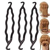 HeiHy 10 Pièces Pinces à Cheveux en Plastique pour Chignon Accessoires de...