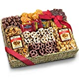 Chocolate Caramel and Crunch Grand Gift Basket -...