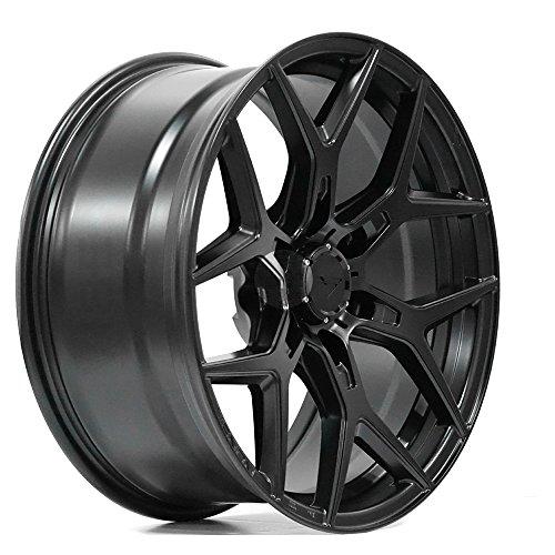 20' Vorsteiner Venom Rex 601 Black Concave Wheels Rims Only Set Of 4 Includes Vibe Motorsports License Plate Frames Fits Ford Raptor