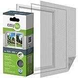 Easy Life Moustiquaire pour fenêtre à dimensions ajustables 150 x 180 cm...