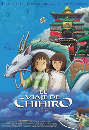 SDFSD Spirited Away Cartoon Pittura Classico Anime Romantico Amore Ragazza Carina Decorazioni per la...